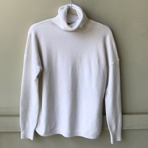 White French Connection Turtleneck
